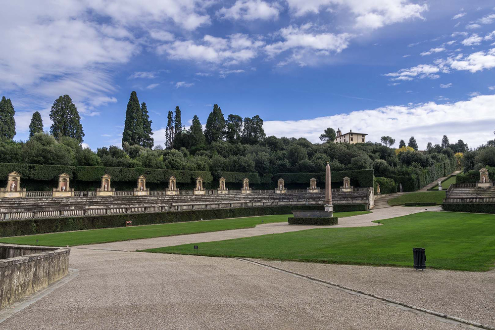 The beautiful Boboli Gardens