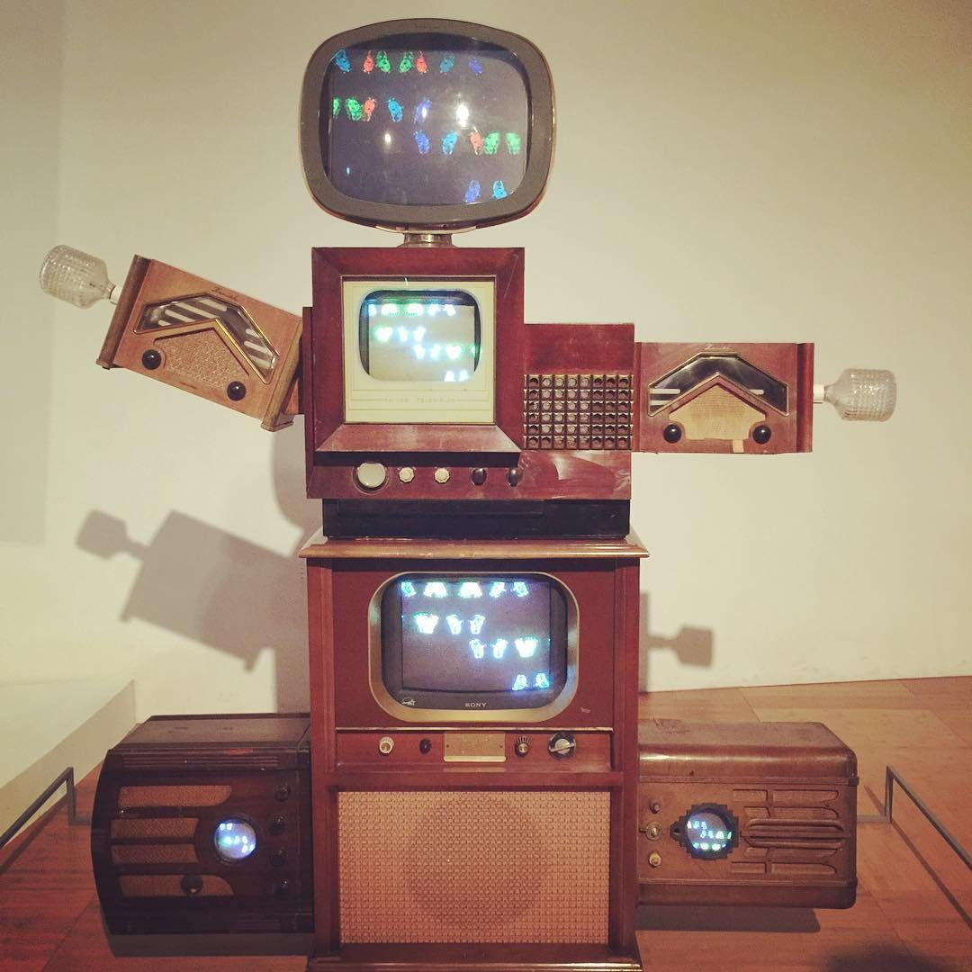 TV Robot by Nam June Paik