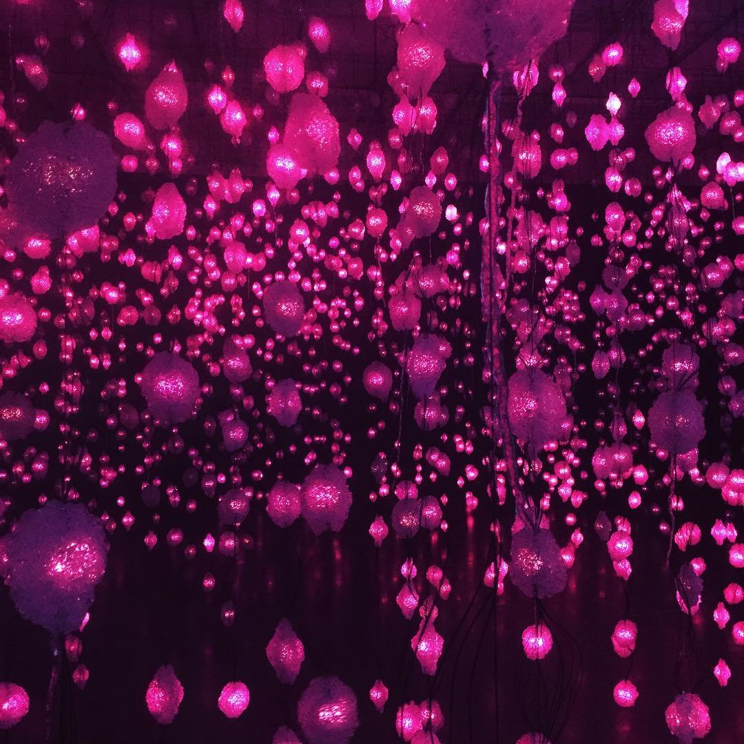 Pixel Forest by Pipilotti Rist