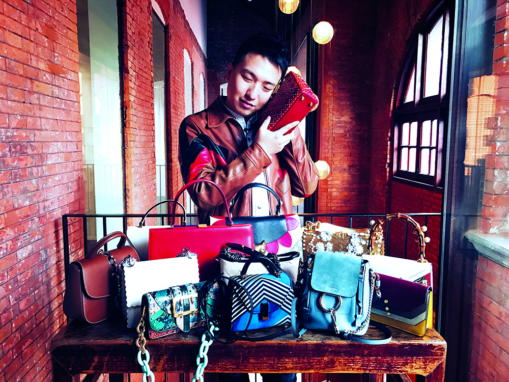 A self-proclaimed bag addict, Tao Liang is best known as Mr Bags