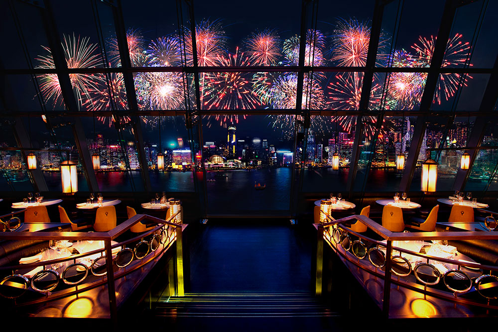 Take in all the fireworks at Aqua