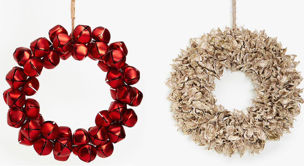 Nothing says Christmas like a festive wreath from Zara Home