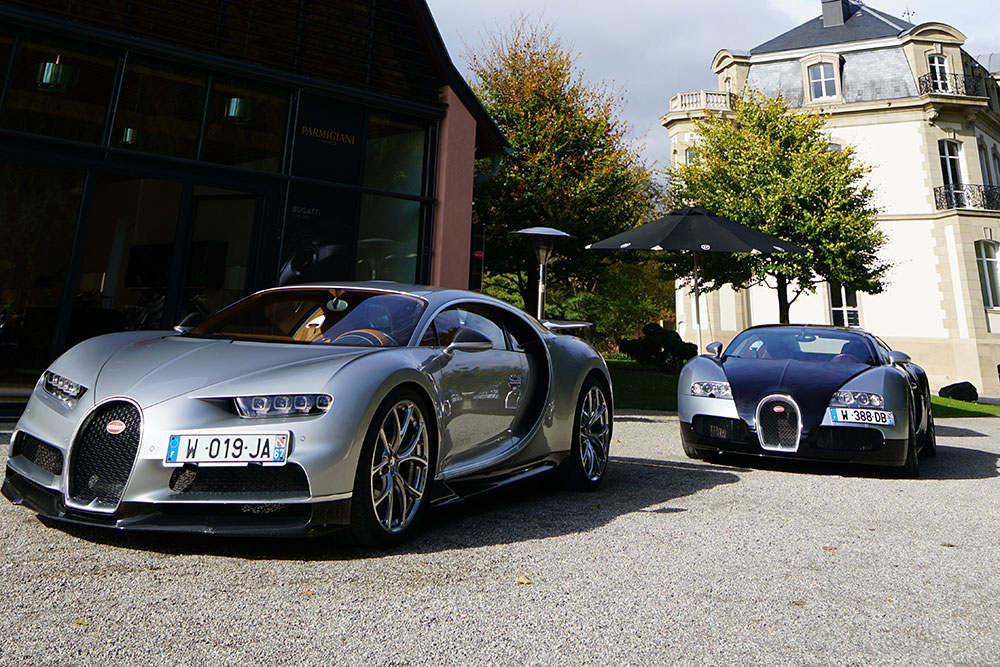 The Bugatti Chiron, which influenced the Parmigiani Fleurier Bugatti Type 90