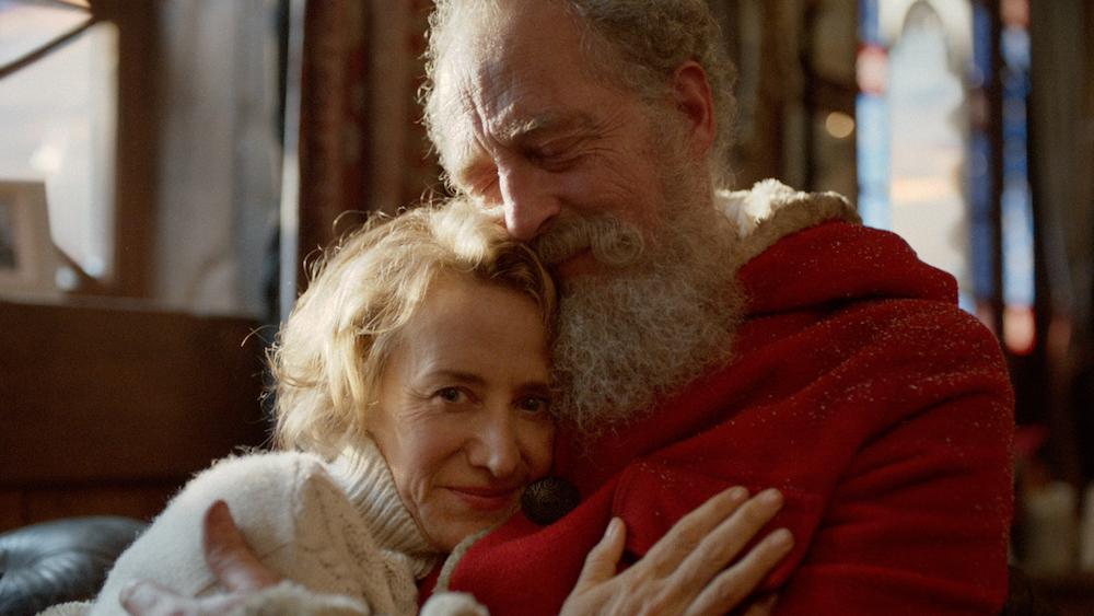 janet mcteer as mrs claus in marks spencers 2016 christmas advert - Best Christmas Commercials