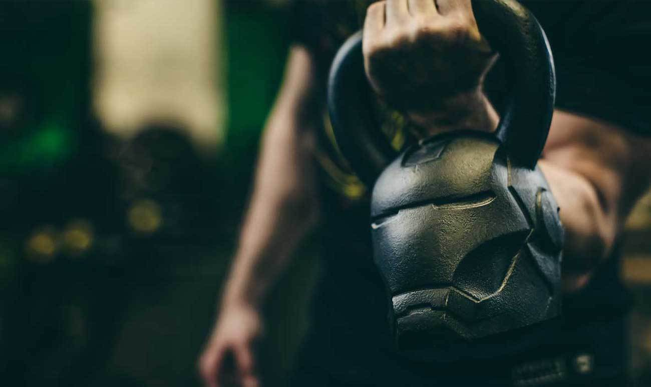 We can't think of anyone who wouldn't want to have a go with this Ironman kettlebell