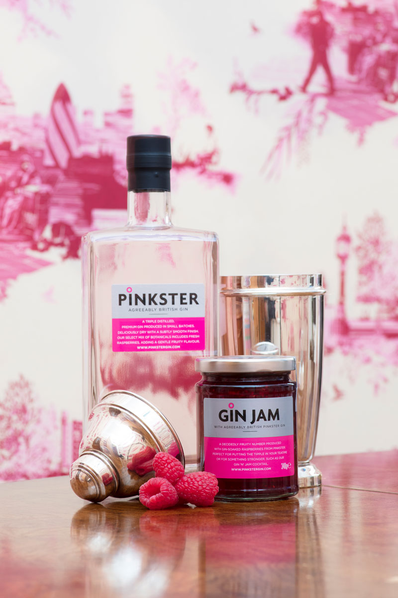 Pinkster Gin Cocktails