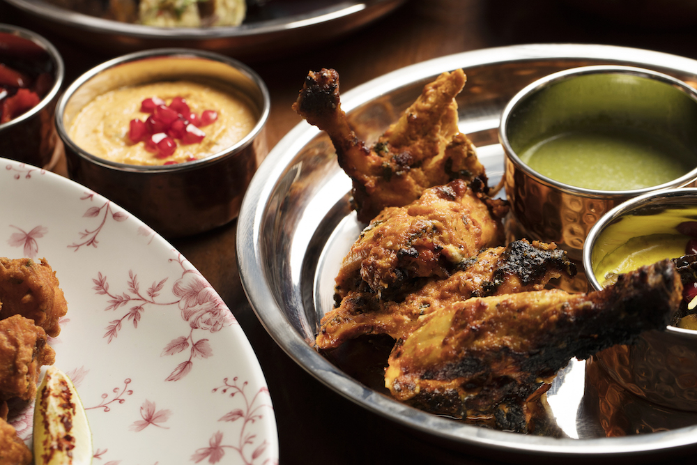 A grown up spin on Chicken Tikka
