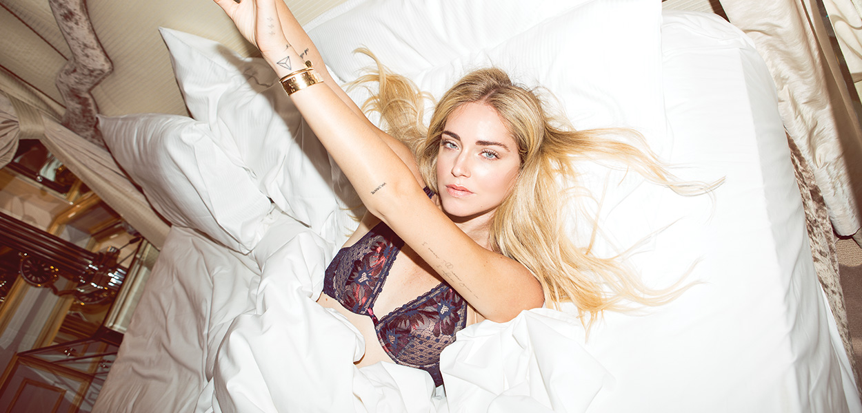 Chiara Ferragni in our July photo shoot