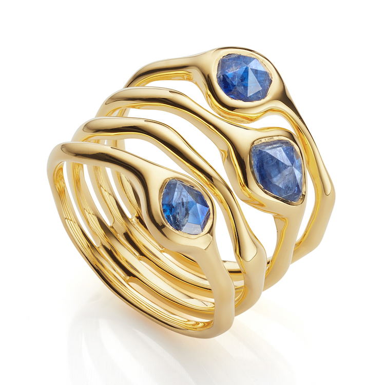 The new Cluster ring is inspired by underwater treasures