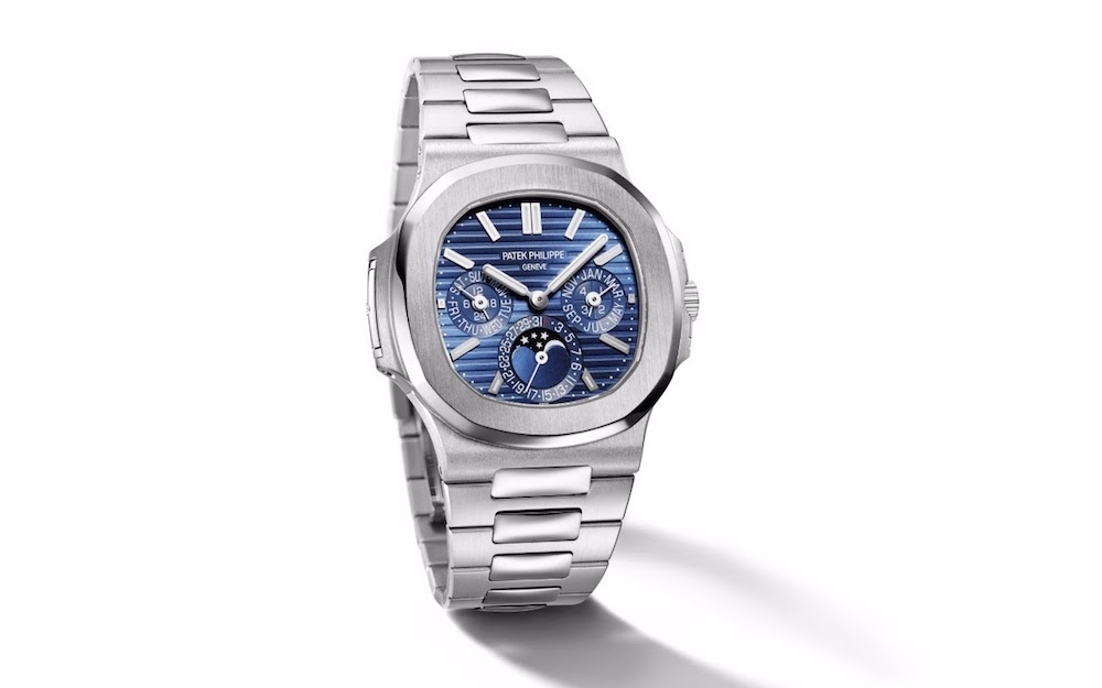 Patek Philippe's first perpetual calendar to be added to the Nautilus line