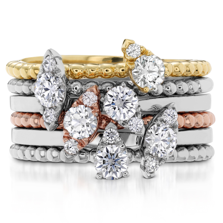 Stackable Bands from the Aerial collection