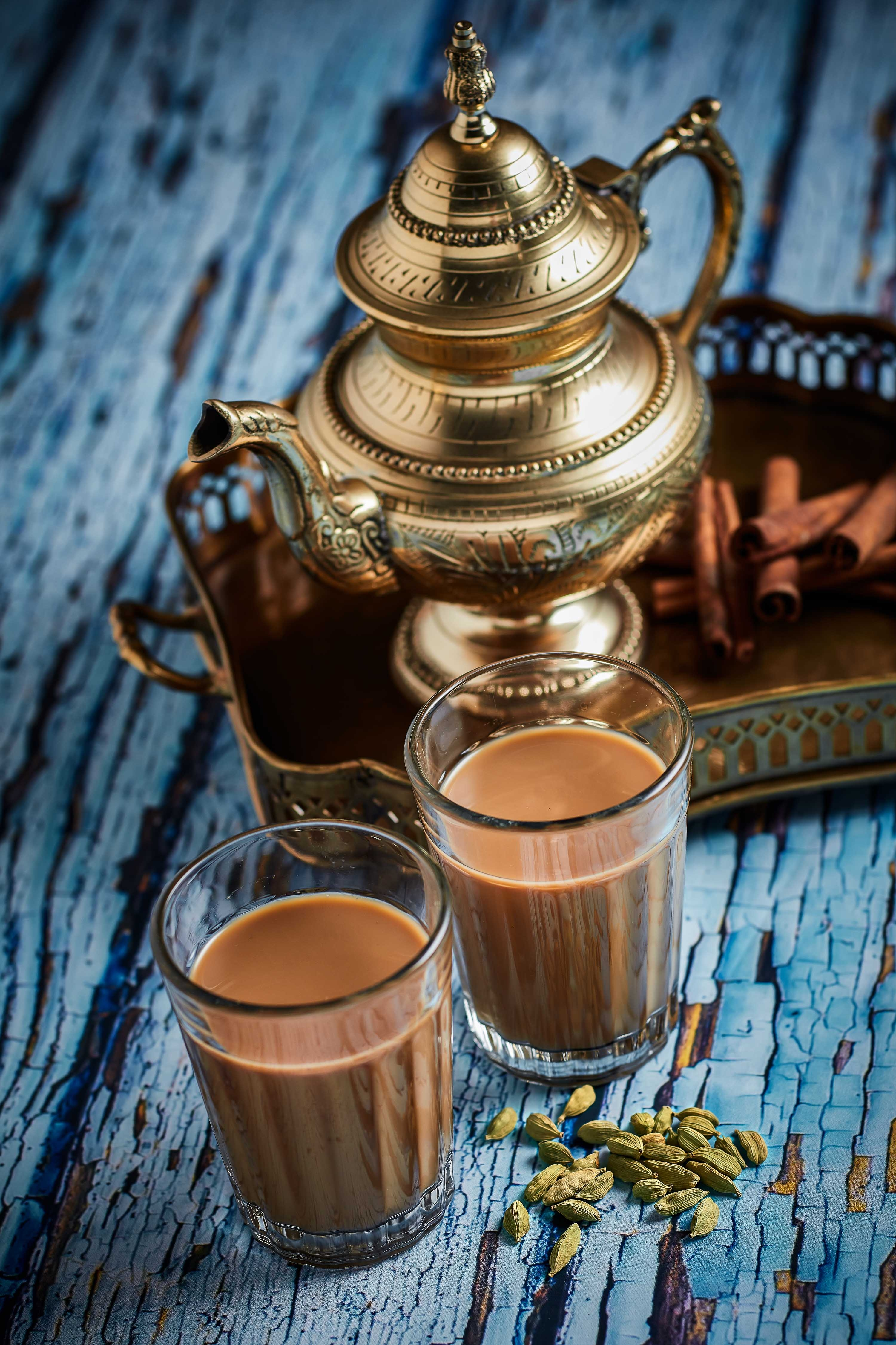 Chaiwala's signature chai tea latte