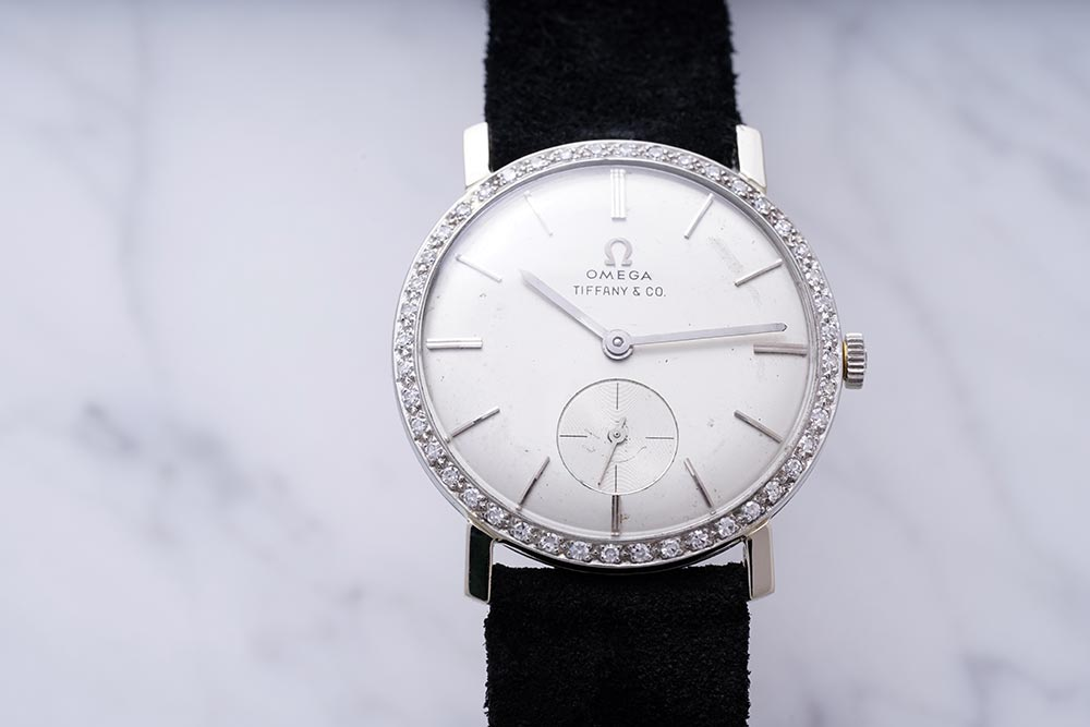 Elvis Presley's diamond-set Tiffany Dial Omega watch