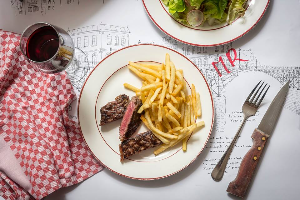 La Vache is one of Hong Kong's most iconic steak restaurants