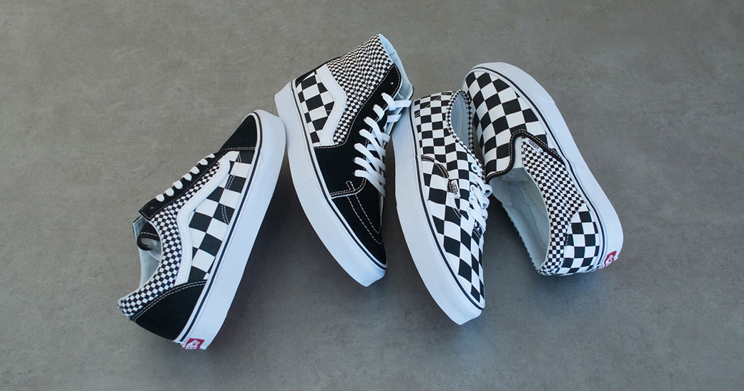 Drop Of The Week Vans Updates Its Classic Checkerboard Pattern