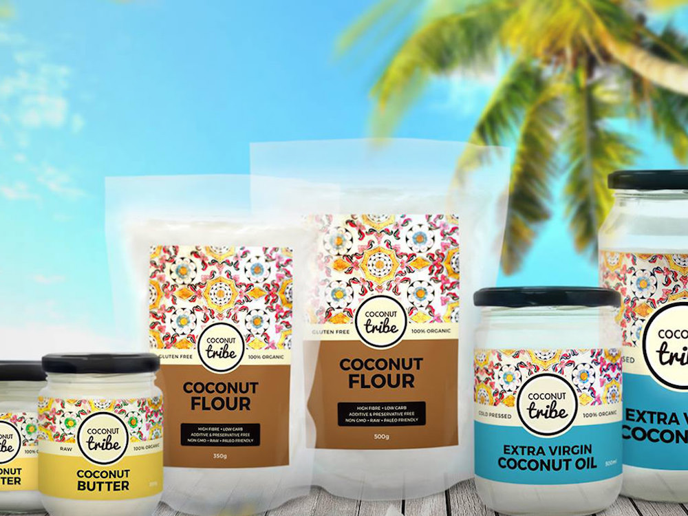 The Coconut Tribe line of products
