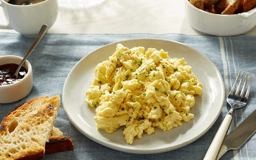 JUST Scramble offers a healthier and more sustainable way to start your day