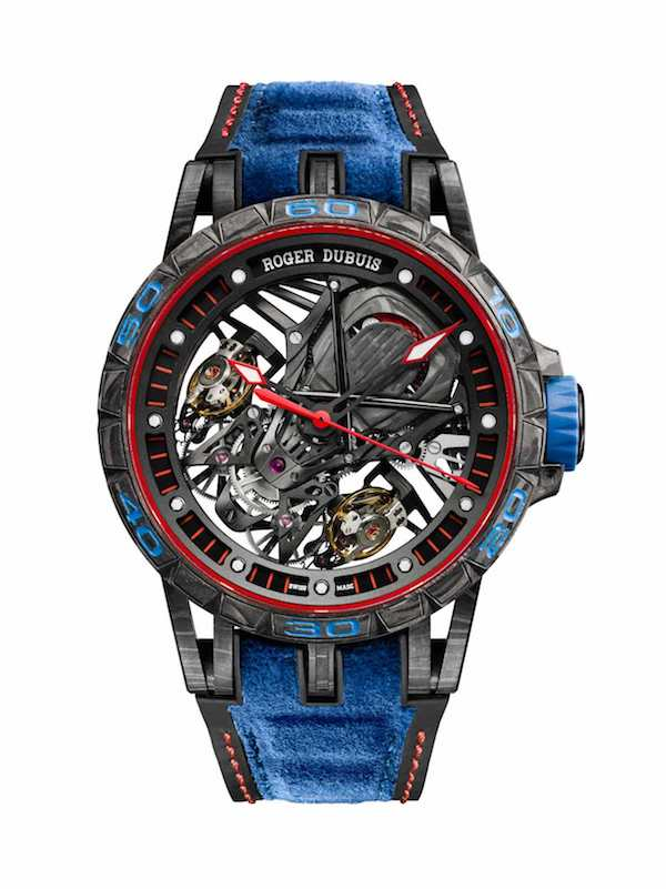 Roger Dubuis Excalibur Aventador S in blue