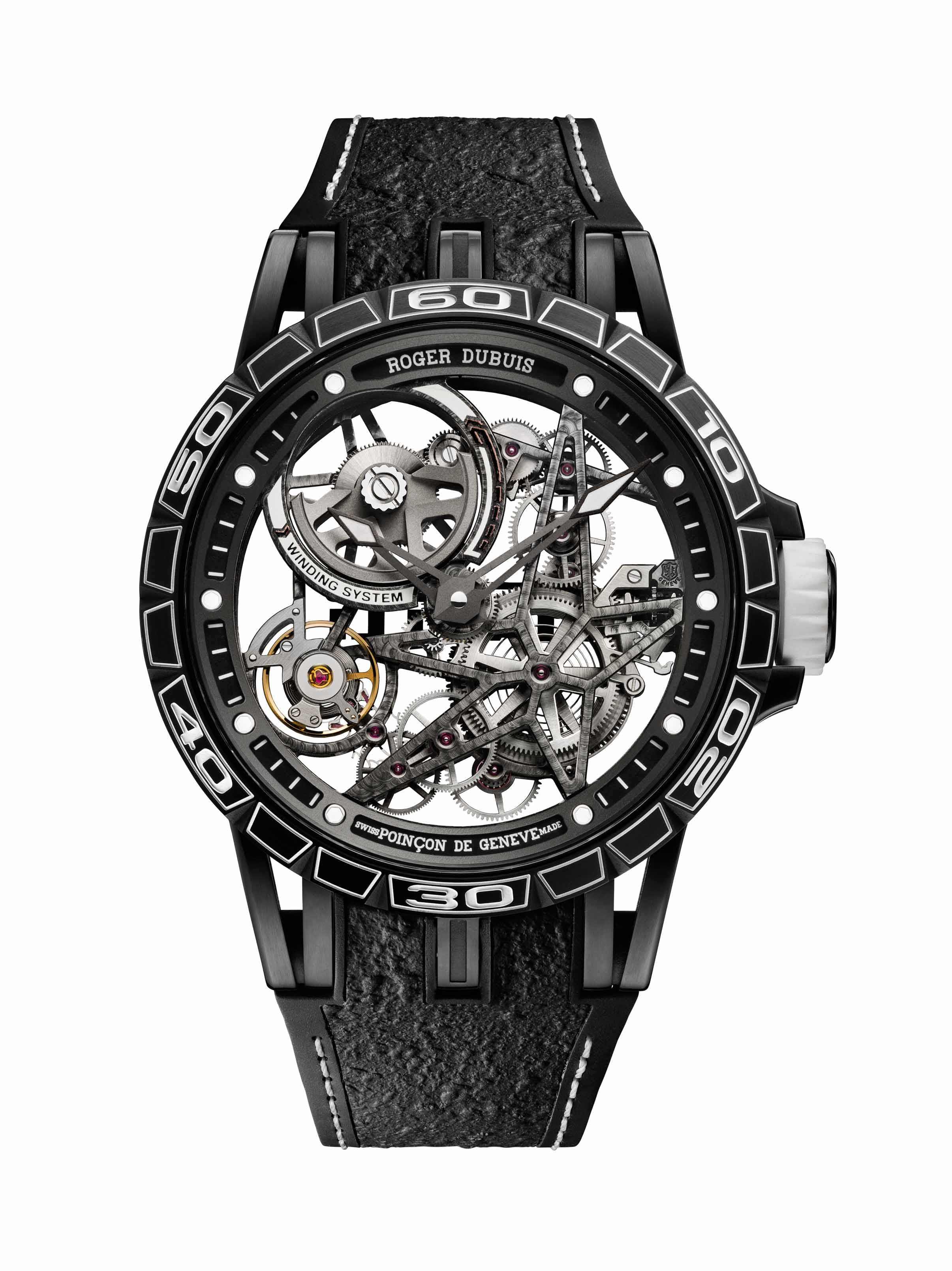 The Excalibur Spider Skeleton Automatic Pirelli