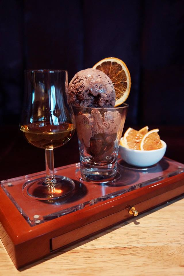 Angel's Share's take on a whisky affogato
