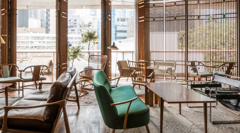 Old Bailey's lounge is a great place to take a break while exploring Tai Kwun
