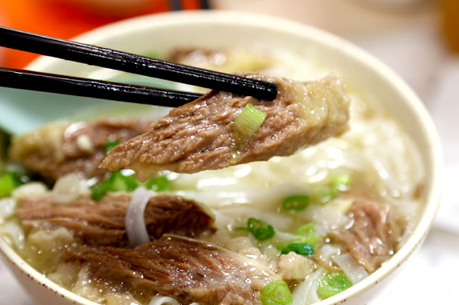 Beef brisket noodle from Kau Kee (Photo: Daniel Ang)