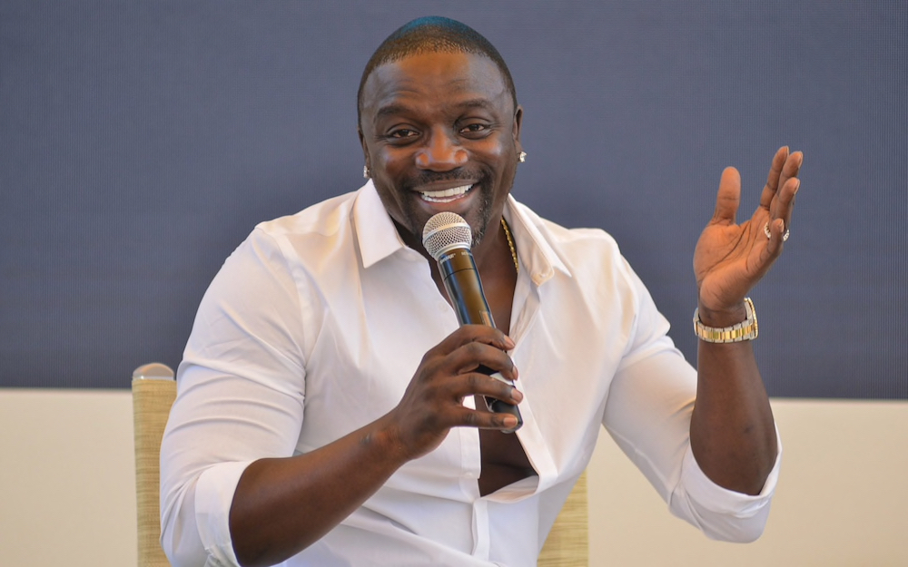Akon at the Cannes Lions Festival