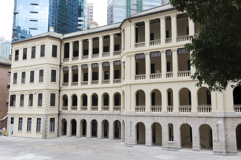 Built between 1862 and 1864, The Barrack Block houses the Tai Kwun Store, visitor centre, and also two heritage storytelling spaces