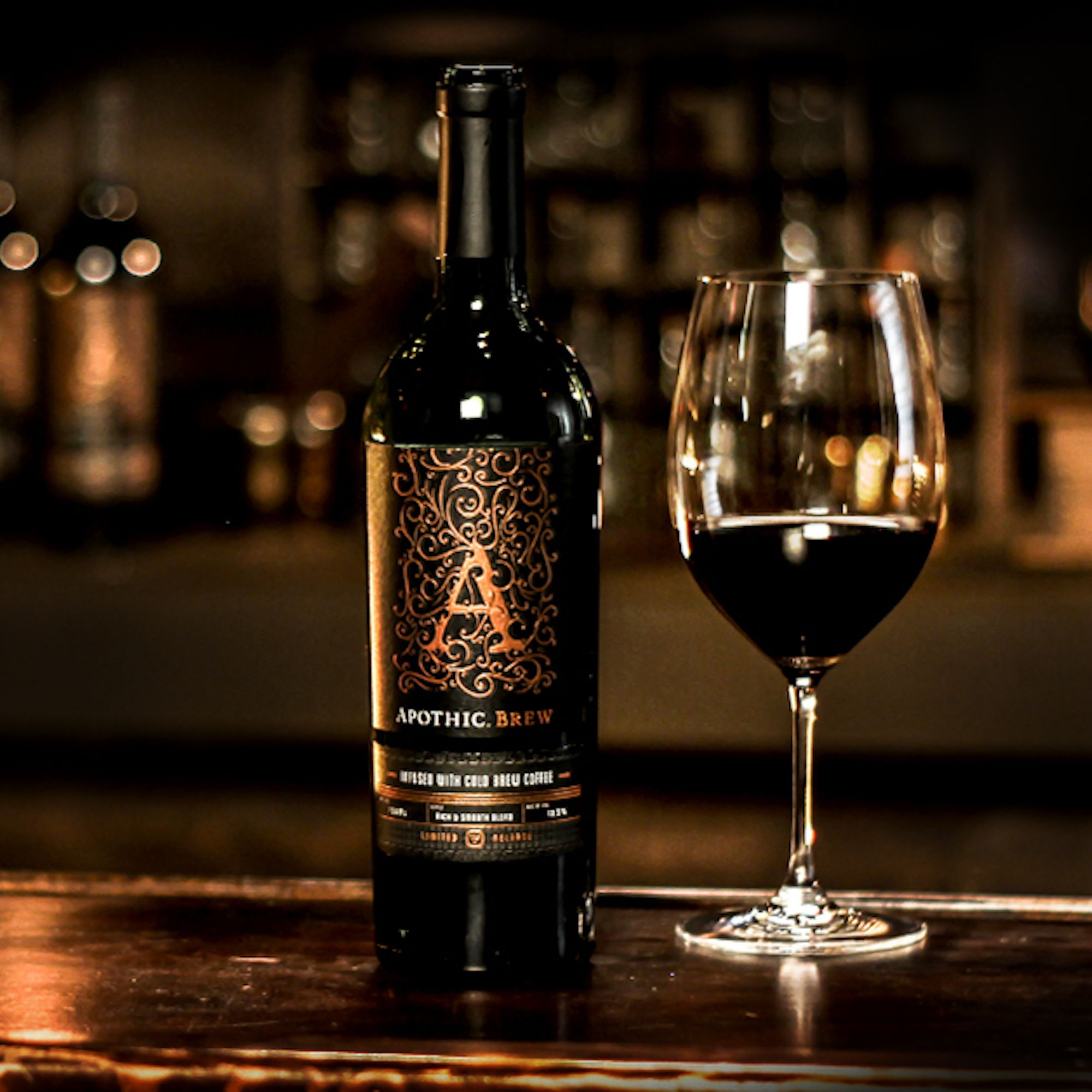 Apothic Wine offers a new type of pour