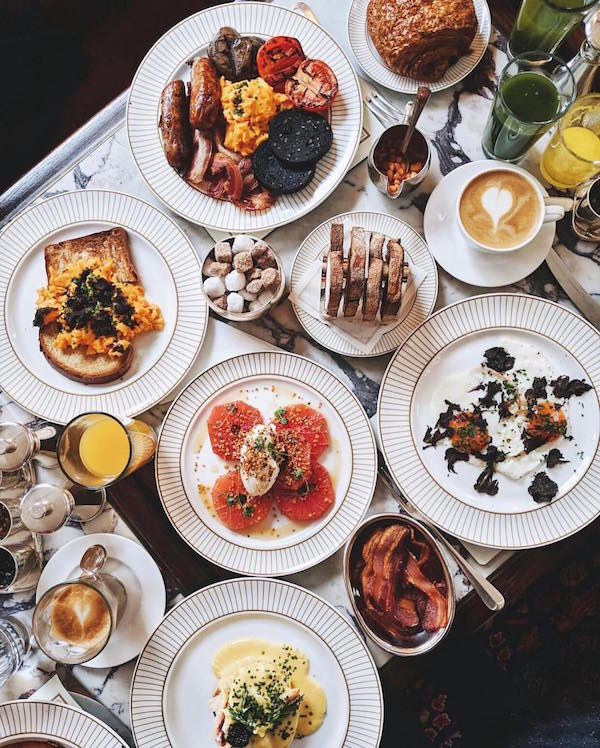 Now that Easter is around the corner, it's time to plan the perfect brunch  (photo: @kettnerstownhouse)