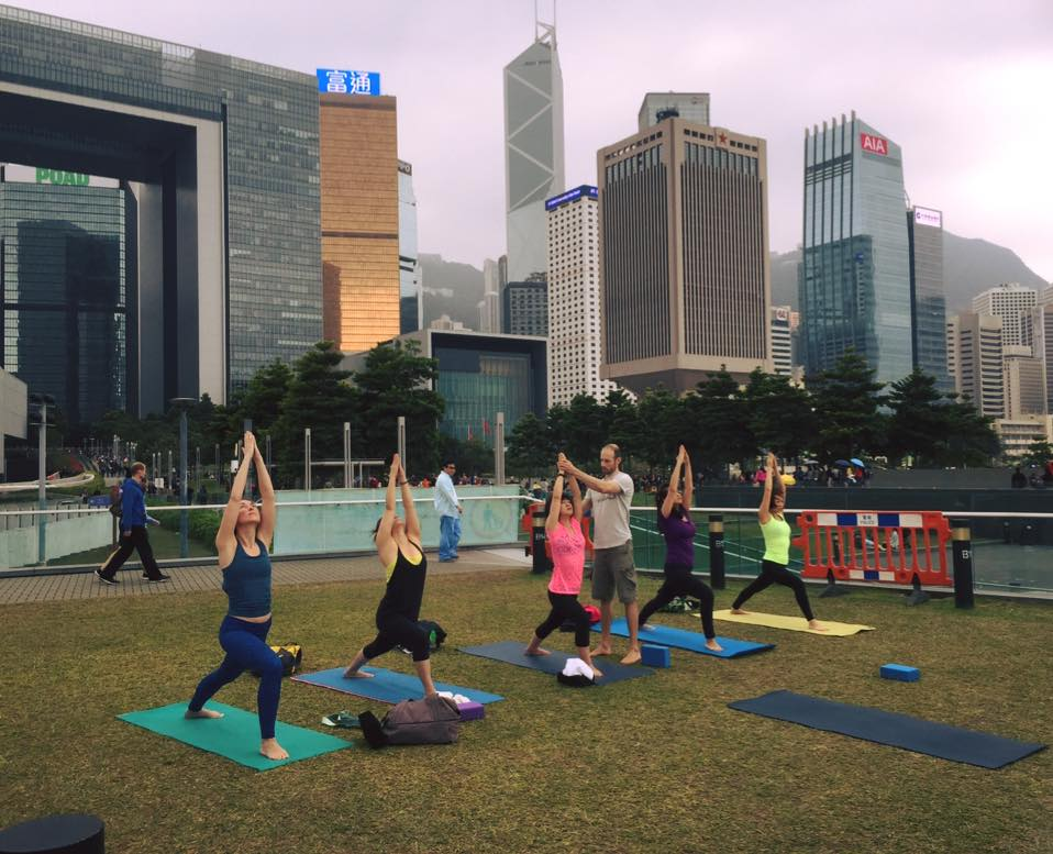 A great option for more experienced yogis looking for more advanced classes outdoors