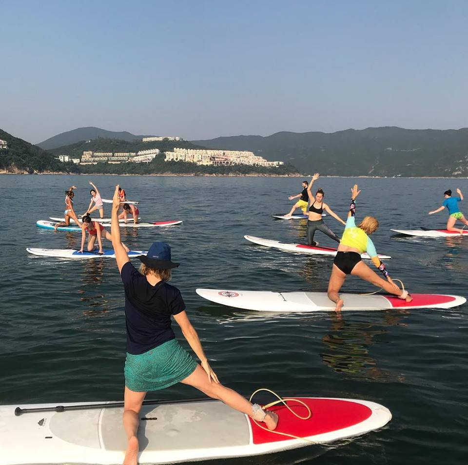 Get out on the water for your next Downward Dog