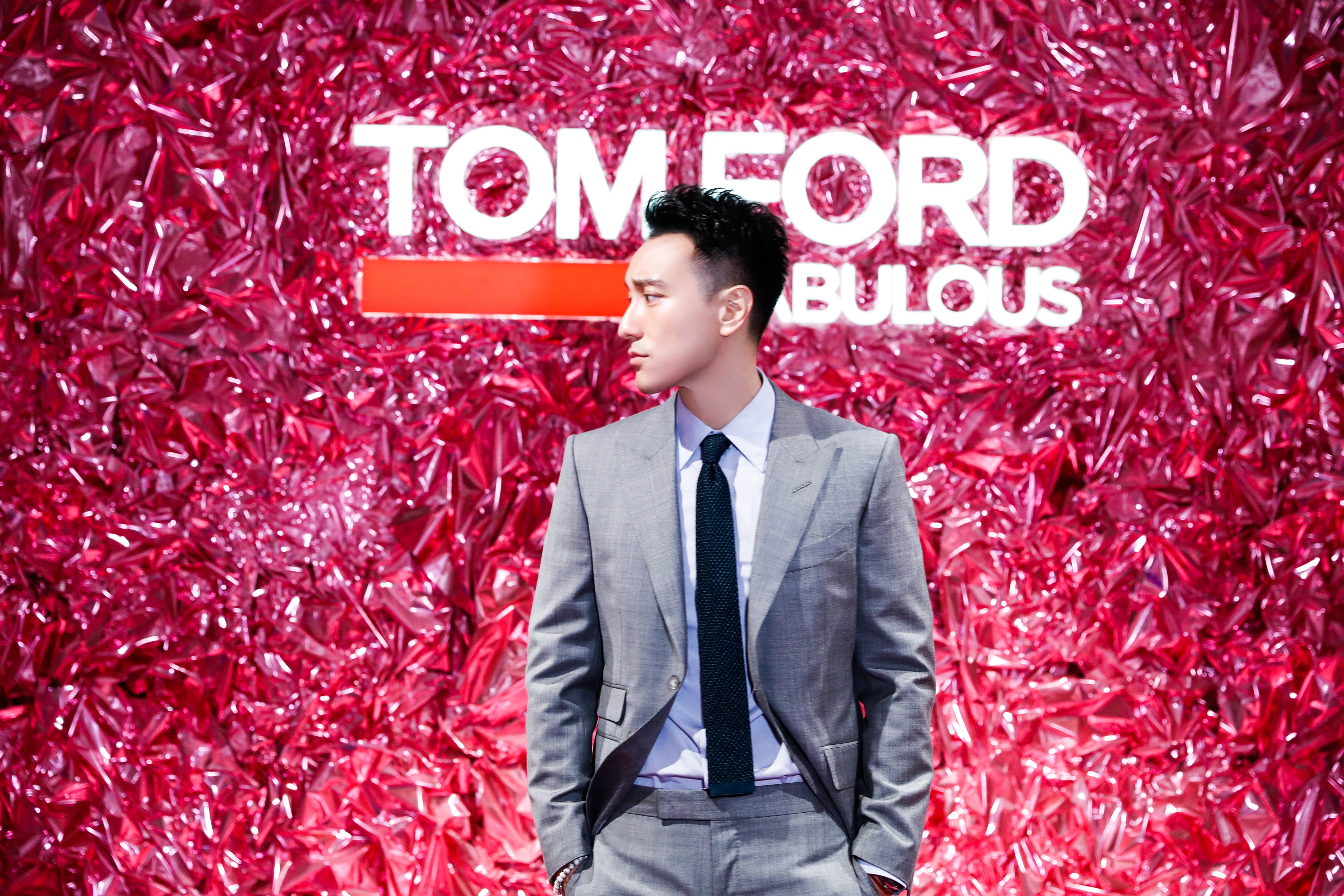 Sunny Wang at Tom Ford's Private Blend Experience in Beijing