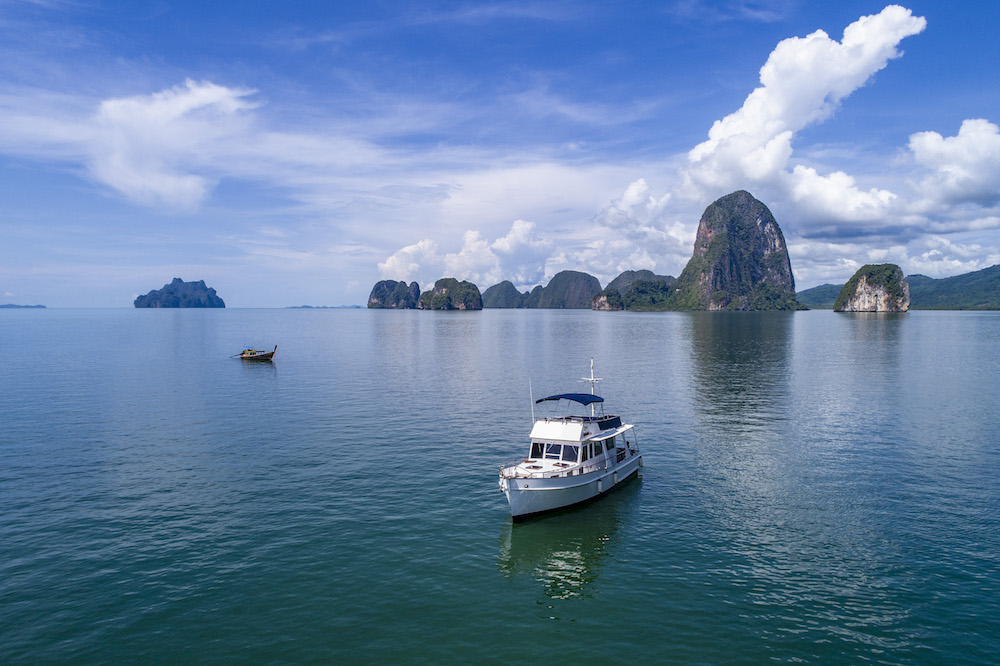 An excursion to Phang Nga Bay