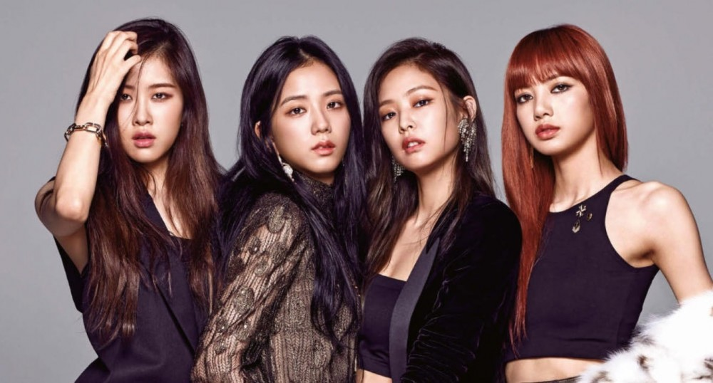 BlackPink members' names from left to right: Rosé, Jisoo, Jennie and Lisa. (Photo Courtesy: Soompi)