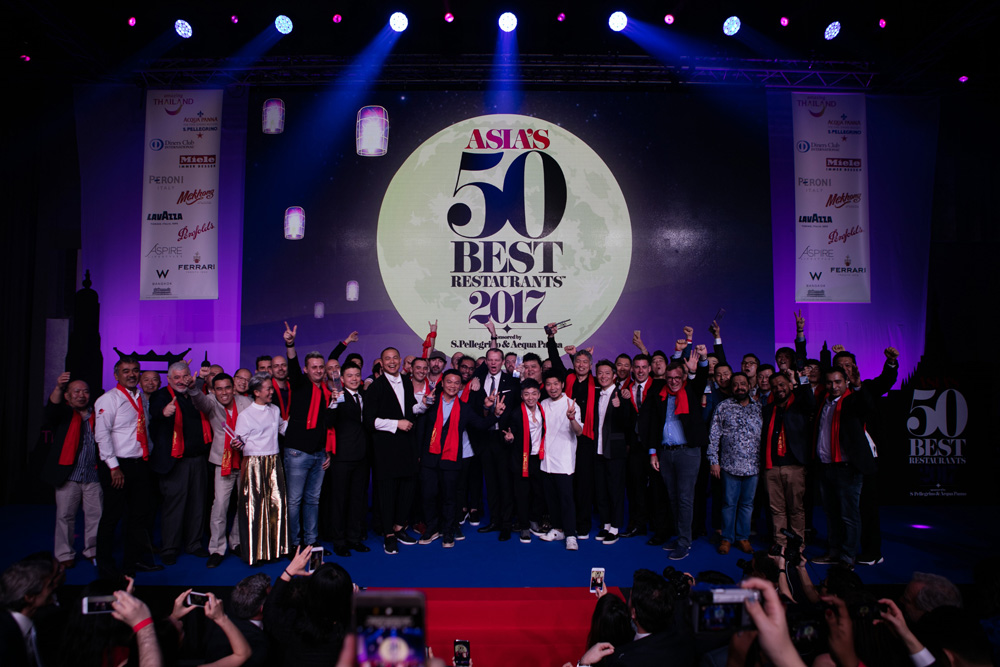 Winners take the stage at Asia's Top 50 Restaurants awards