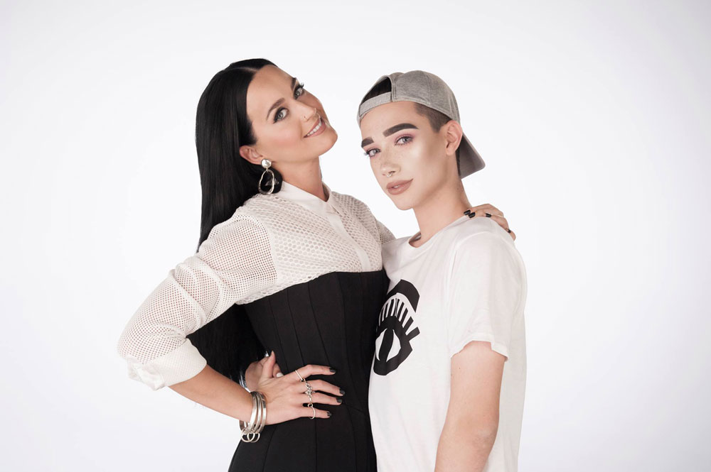CoverGirl Katie Perry introduces new ambassador, James Charles (c/o James Charles)