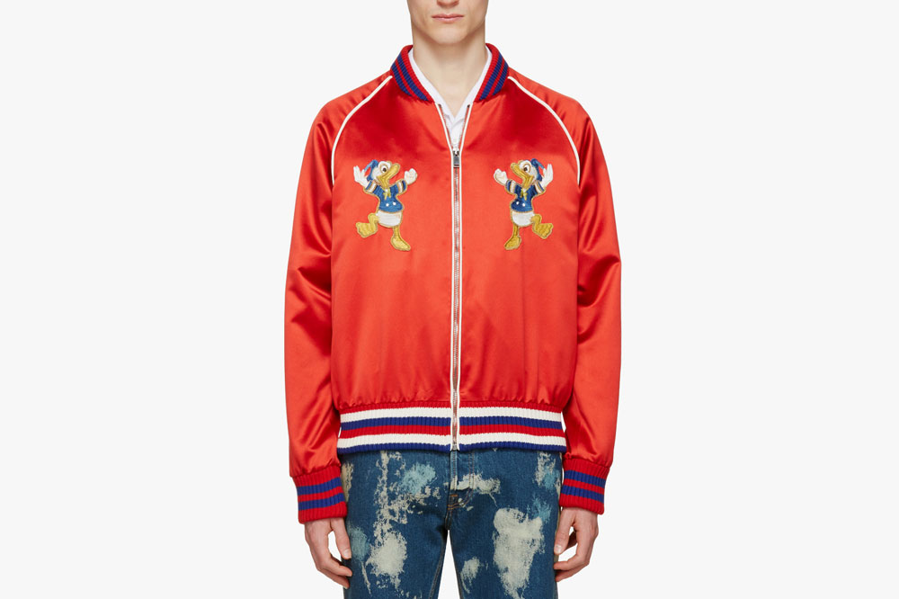A piece from the Donald Duck capsule collection by Gucci