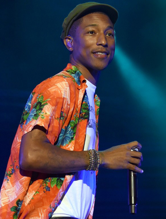 Pharrell and Chanel make history (photo c/o AFP)