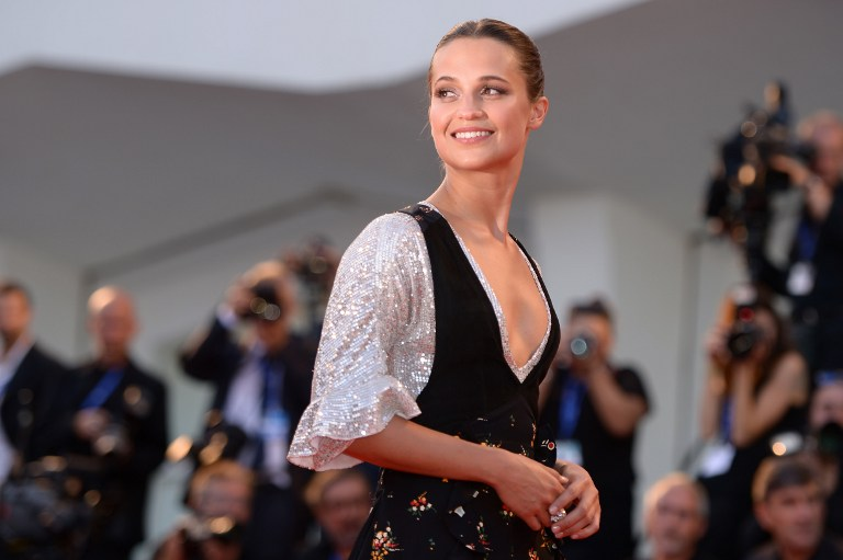 Alicia Vikander (Photo by Filippo Monteforte / AFP)