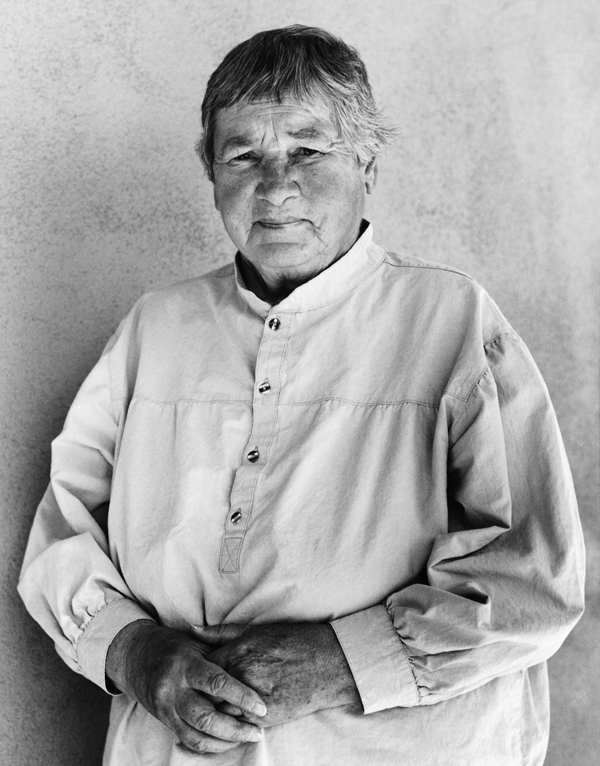 The late artist, Agnes Martin