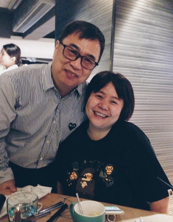 Philip Choi and Mandy Ng, Philson's parents.