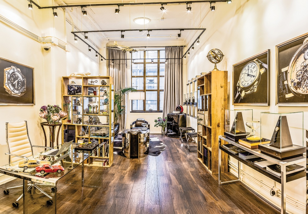 The Lavish Attic, an independent watch boutique in Hong Kong