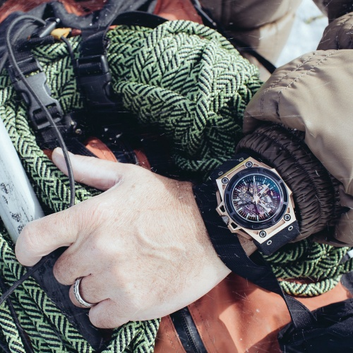 Linde Werdelin ChronoPassion Laurent Picciotto in Chamonix