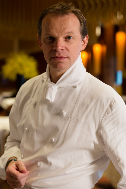 Chef Richard Ekkebus