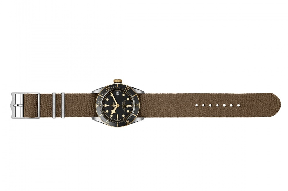 Tudor Heritage Black Bay in steel and gold