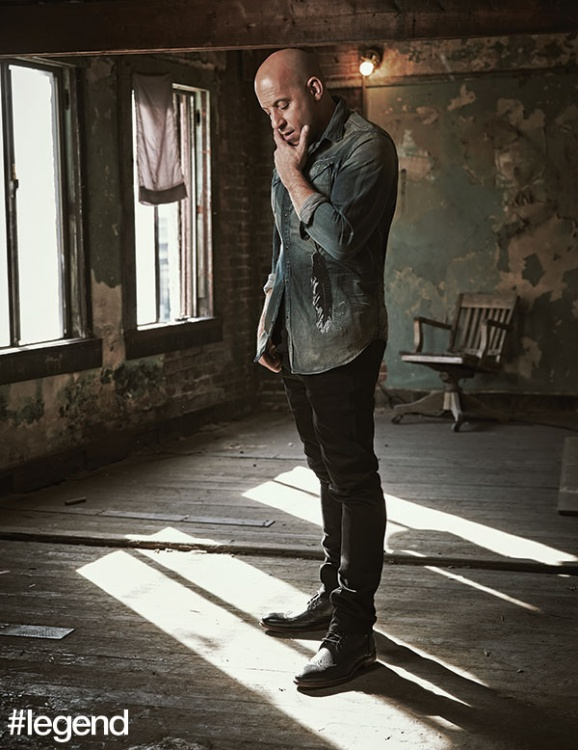 Shirt by Cult of Individuality, jeans by Nudie Jeans, boots by Johnston & Murphy