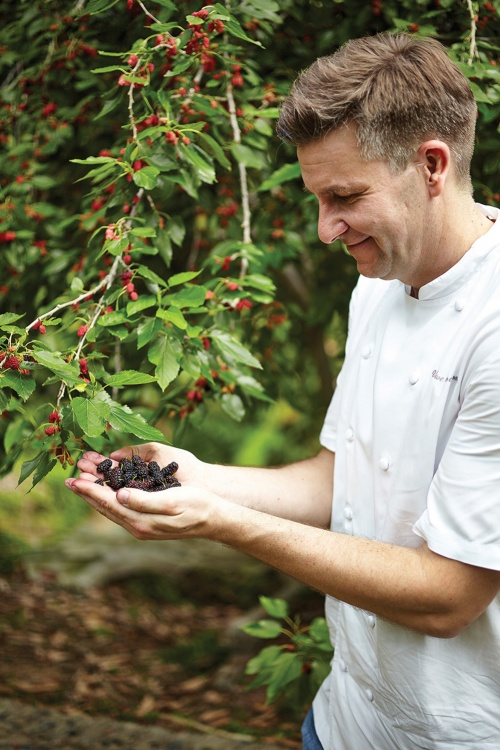 Chef Uwe Opocensky taking the farm-to-table concept to a new level