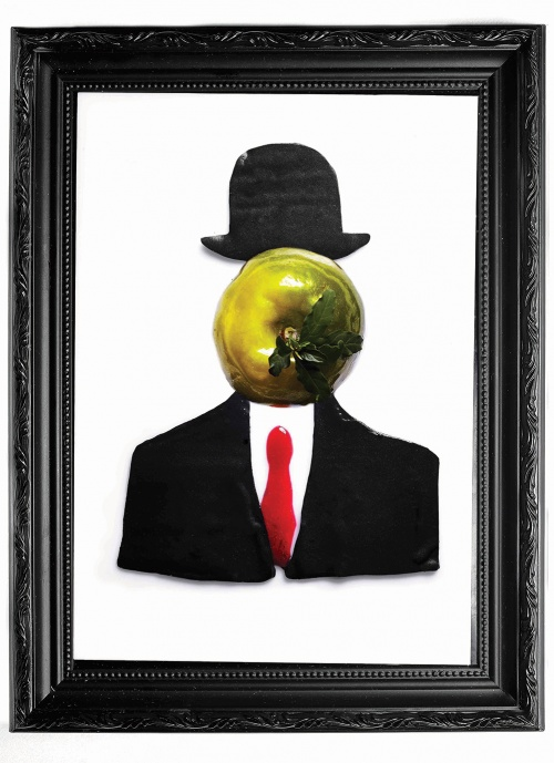 Uwe Opocensky's art-inspired Apple and Man creation