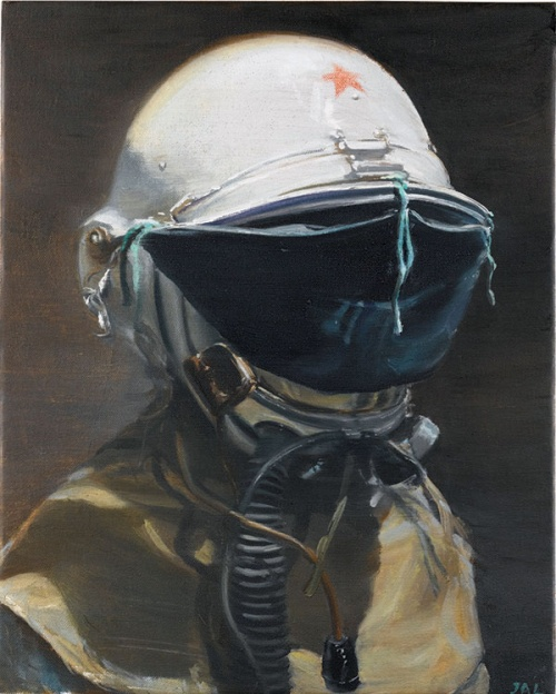 Untitled (Man With a Helmet) by Jia Aili (Credit: PLATFORM CHINA)